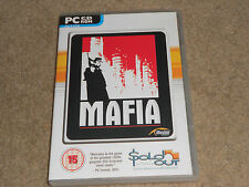 MAFIA 1 ( GANGSTER GAME ) RARE -  PC CD ROM * SOLD OUT VERSION GAME