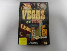 Vega$ Tycoon PC Game by Global Star Software 2004 New