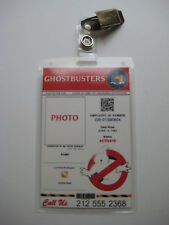 Ghostbusters - I.D. Badge  [ We Will Add Your Name & Photo ]