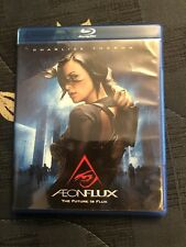 Aeon Flux (2005, Blu-ray) Sci Fi Live Action Charlize Theron