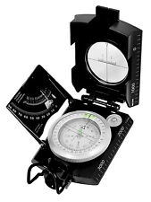 black marching compass military deluxe version rothco 14061