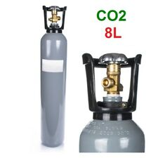CO2 Gas Bottle Cylinder 100% FULL 8 Liter 150 Bar Pure Gas Welding NEW