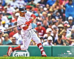 MOOKIE BETTS AUTOGRAPHED SIGNED 16X20 PHOTO RED SOX FANATICS & MLB HOLO 177457