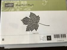 Stampin' Up! Magnificent Maple Wood Mount Rubber Stamp