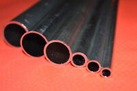 "aluminium Round Bar hollow tube shaft 1/4"" 3/8"" 1/2"" 5/8"" 7/8"" 1"" 8mm 10mm"