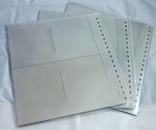 B-Ware. Postkartenblätter LINDNER 829. 10 Blätter. NEU. Standard o LINDNER loch.