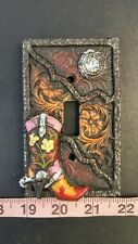 Cowgirl Boot Country Switch Plate Cover D4