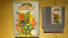 Teenage Mutant Hero Turtles II (2) the Arcade Game for NES. Boxed. UKV - Pal A