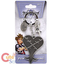 Kingdom Hearts Heartless Key Chain Licensed Pewter Metal Key Ring