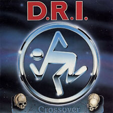 Dirty Rotten Imbeciles - Crossover LP - Clear Vinyl D.R.I. DRI - SEALED NEW COPY