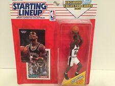 1993 Starting lineup David Robinson Spurs Basketball Topps Card figure toy Navy