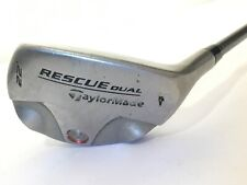 TaylorMade Rescue Dual Hybrid 4 Hybrid 22* Graphite Stiff Right Handed 40 inch