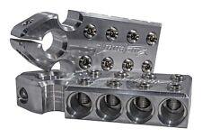 Pair ILL Customz SAE Top Post 8 1/0 AWG 0 Gauge Battery Terminal Blocks
