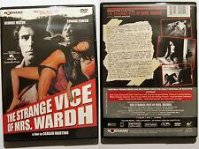 THE STRANGE VICE OF MRS WARDH NO SHAME GIALLO REGION 1 NTSC DVD OOP