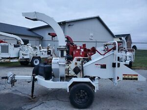 """2013 Altec DC610 6"""" Disc Auto Feed Brush Wood Chipper ONLY 538 HOURS 1 Owner"""