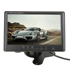 7 '' Car TFT LCD Monitor Car Rear View Backup Parking Reverse 2 CH Entrée vidéo