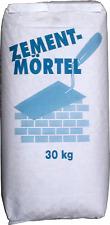Zementmörtel 30Kg Neutral Fertigmischung zum Mauern / Putzen Sockelputz Oberputz