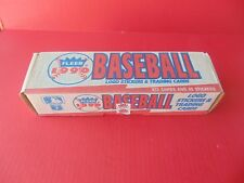 BASEBALL 672 CARDS FLEER 1990 Complete Factory Set MLB 45 Stickers