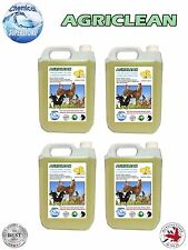 LIMONE fresco 4 x 5L ANIMAL HOUSE Cleaner 20 LITRI