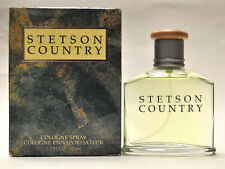 Stetson Country By Coty Men 1.7oz Cologne Spray (New In Damaged Box)