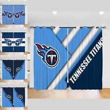 Tennessee Titans 2PC Blackout Curtain Panels Bedroom Living Room Window Drapes