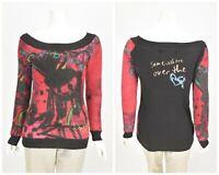 Womens Desigual Jumper Long Sleeve Multicolor 27J2130 Size M