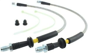 Stainless Steel Braided Brake Hose Kit StopTech 950.34010