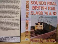 SOUNDS REAL BR CLASS 76 & 52 RAIL PMP DVD 1227