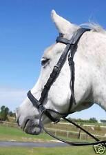 Draft Horse Spirit Bridle Blk Beta Bitless type Bridle