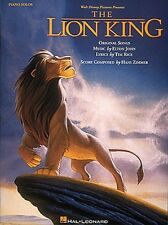 The Lion King Sheet Music Piano Solo Songbook NEW 000292060