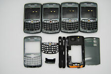 LOT of 5 BLACKBERRY CURVE 8300 8320 Grey HOUSING+TRACKBALL Used