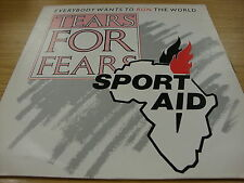 """Tears For Fears Everybody Want's To Run The World  (PS) 12"""" Vinyl Single"""