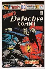 DC Comics  DETECTIVE VFN BATMAN Bronze age  #455  7.5  HIGH grade 1976