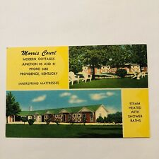 Morris court motel, Providence, Kentucky