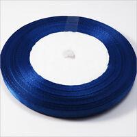 Ruban Satin 30 mètres Largeur 6mm Bleu