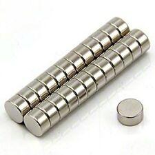 N52 Neodimio Cilindro Imanes para refrigerador de 30 piezas de 6 Mm x 3 mm, 14 X 18 EA Raro