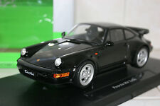 1/18 Welly Porsche 911 964 Turbo Black Lmtd.Edition 1 of 1000