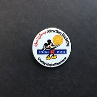 WDW Walt Disney Attractions Marketing Special Events Disney Pin 2657