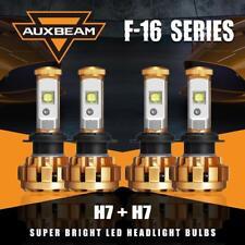 Auxbeam H7+H7 Hi-Lo Beam LED Headlight Bulbs Total 120W for Hyundai Sonata 99-01