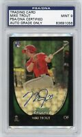 MIKE TROUT 2011 Bowman Chrome SUPERFRACTOR RC Rookie AUTOGRAPH AUTO!! 1/1? GRAIL