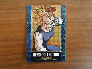 Carte DRAGON BALL Z - WGL-1 Double Prism (Unpeeled) - HERO COLLECTION - Japan