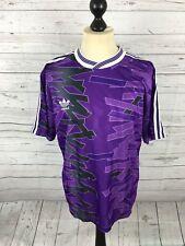 Adidas Retro T-Shirt-Größe XL-lila-super Zustand