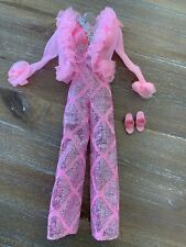 Vintage BARBIE Superstar Doll - Best Buy #9624 VHTF Pink Silver Jumpsuit Jacket