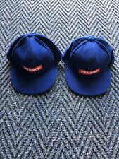 1 x Pair SMIRNOFF Blue Vintage One size fits (Adjustable) all hat/cap .Vgc.B Cy