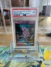 More details for mewtwo gx (mewtube) psa 9 shining legends pokemon 78/73