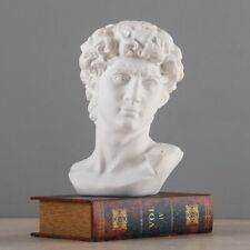 Greek Mythology David Head Bust Statue Mini Europe Michelangelo Home Decoration