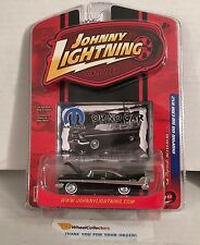 #2  '58 Plymouth Belvedere * BLACK w/ Disc Rims * Johnny Lightning Mopar * F13