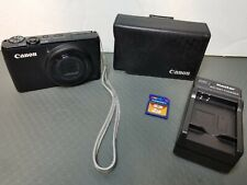 CANON PowerShot S95  Digital Camera With Battery And Charger 2Gb SD card