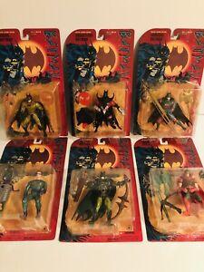 Batman Special Edition Legends Action Figures Complete Set of 6(Kenner 1995)NIP!