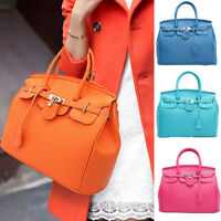 Women Handbag Shoulder Bag Pu Leather Messenger Hobo Satchel Tote Shop Bag